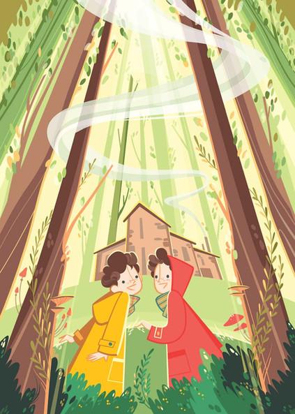 Nel bosco di Anita, Raffaello editore