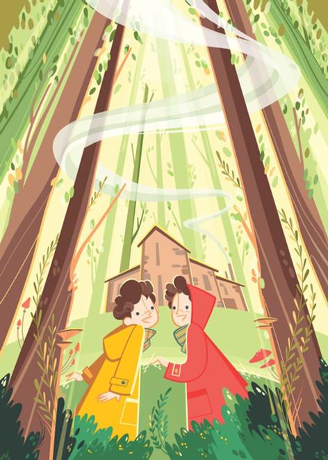 Nel bosco di Anita by Patrizia Ceccarelli, Raffaello editore