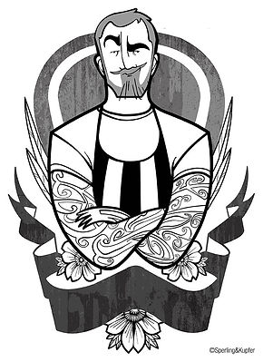 Illustrations for the Chef Rubio's book about street food