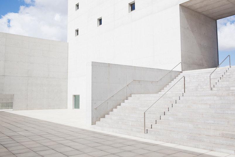minimalistische Trappen