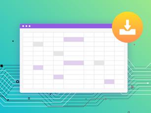 各種データをCSV形式でダウンロードできる機能がアップグレード