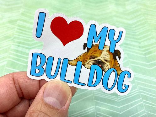 I <3 My Bulldog