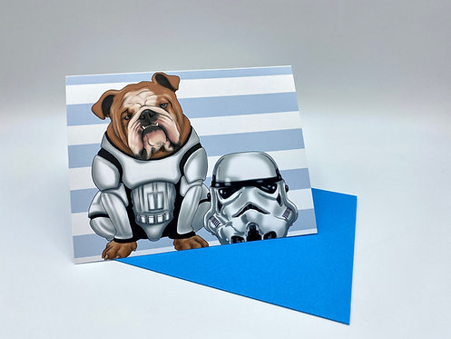 Storm Trooper Bulldog
