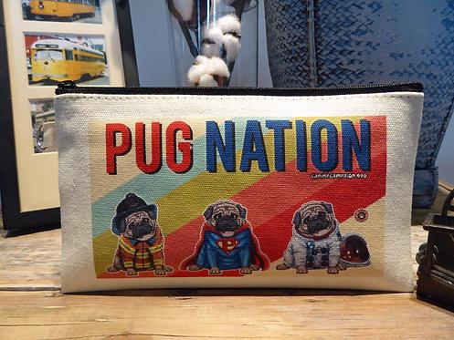 Pug Nation (7.5in x 4.5in)