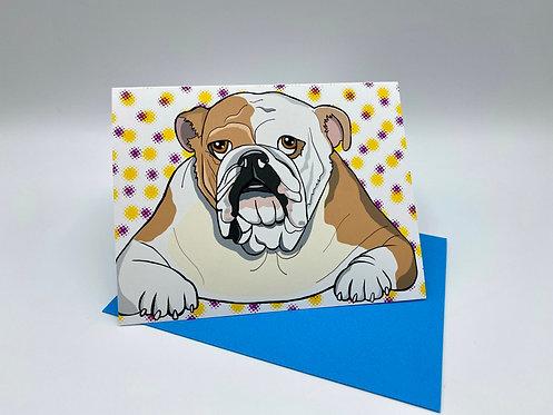 Polka Dots Bulldog