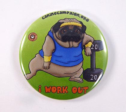 I Work Out (Pug)