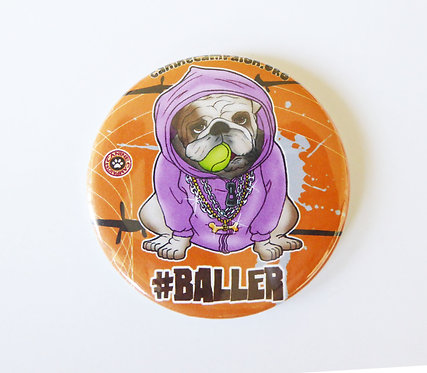 Bulldog Baller (Orange)