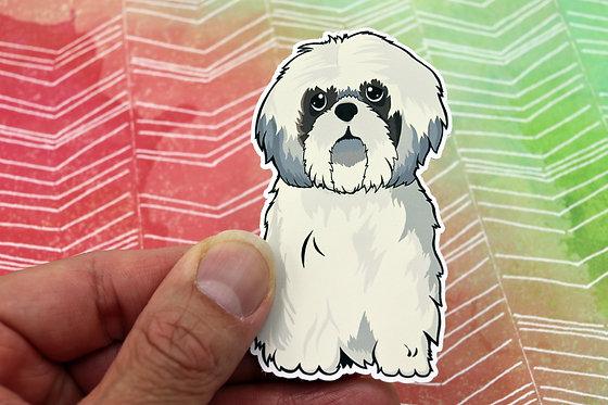 Shih Tzu (Die Cut Sticker)