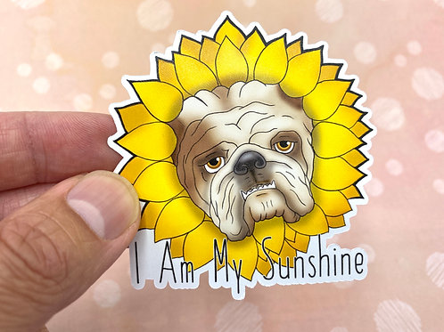 I Am My Sunshine (Die Cut Sticker)
