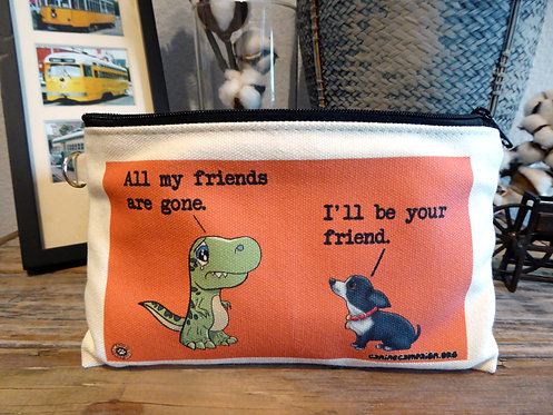 I'll Be Your Friend (7.5in x 4.5in)