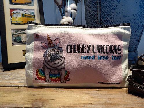 Chubby Unicorn (7.5in x 4.5in)