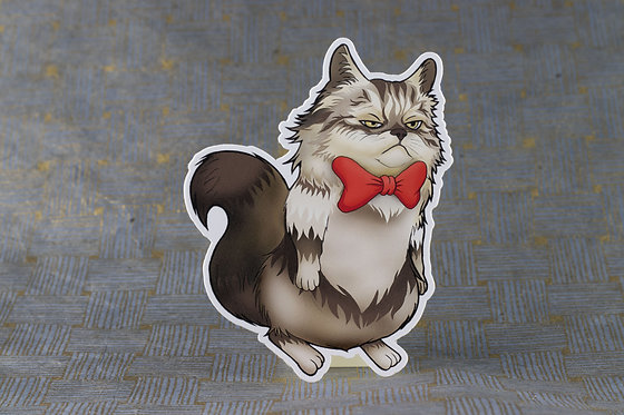 Grumpy Cat (Die Cut Sticker)
