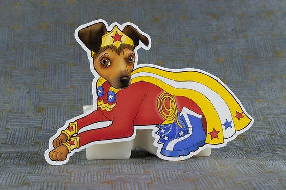 Wonder Chihuahua (Die Cut Sticker)