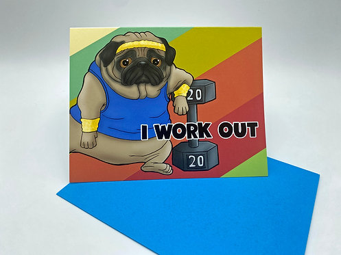 Work Out Pug
