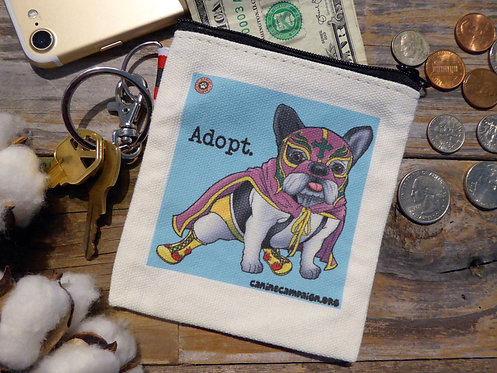Adopt - Frenchie (4.5in x 4.5in)