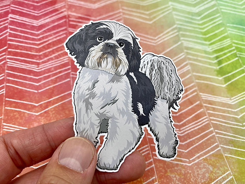 Shih Tzu (Die Cut Sticker)