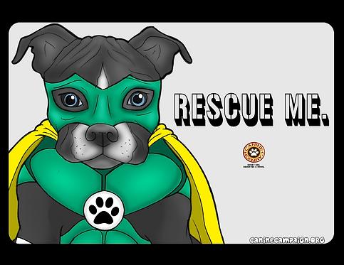 Rescue Me - Pitbull