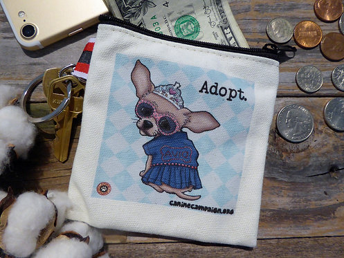 Adopt - Chihuahua (4.5in x 4.5in)