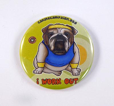 I Work Out (English Bulldog)