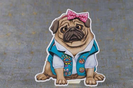 Girl Scout (Die Cut Sticker)