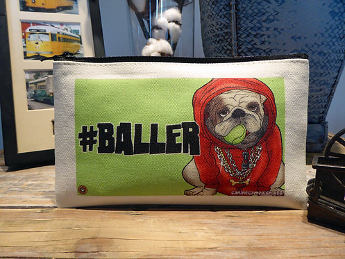 Baller - Bulldog (7.5in x 4.5in)