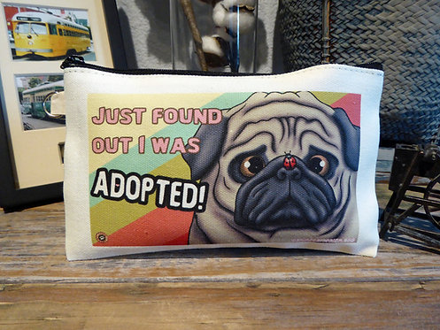 Adopted Fawn Pug (7.5in x 4.5in)