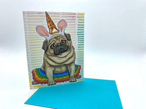 Unicorn Pug