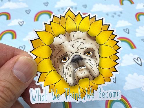 We Become (Die Cut Sticker)
