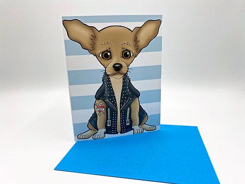 Chihuahua Biker (No Sunglasses)