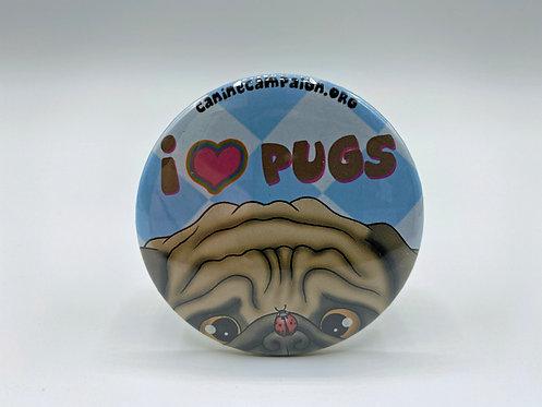 I <3 Pugs (Ladybug)