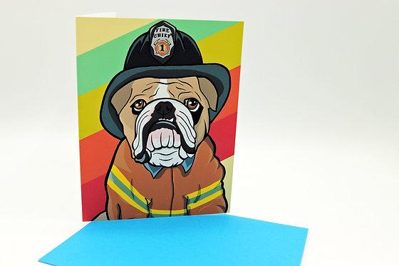 Firefighter Bulldog