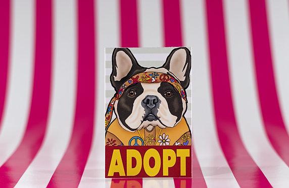 Adopt a Frenchie (Die Cut Sticker)