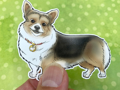 Corgi (Die Cut Sticker)