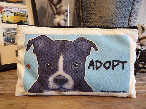 Adopt - Pitbull (7.5in x 4.5in)