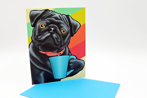 Coffee Mug Pug
