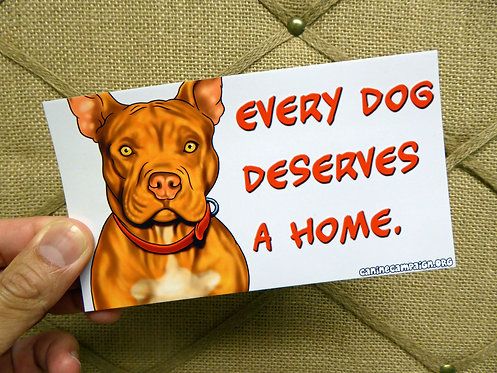 Home - Pitbull (Bumper Sticker)