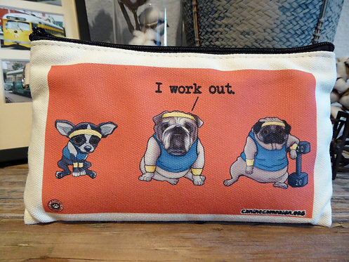 I Work Out Team (7.5in x 4.5in)