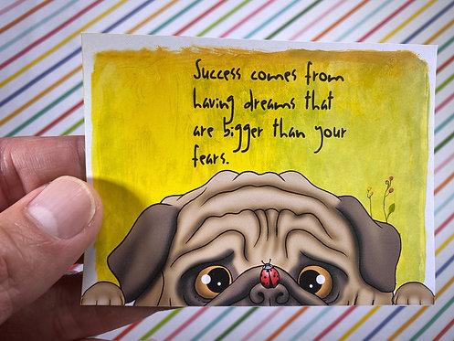 Success Comes...