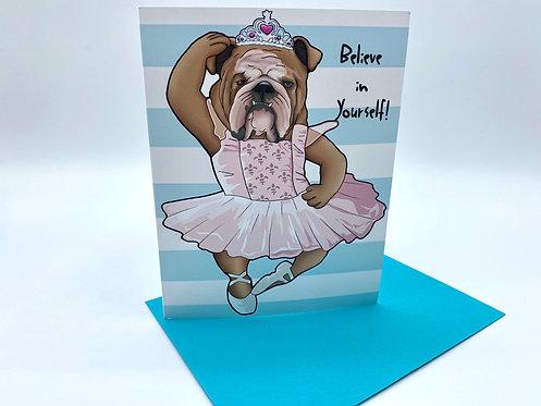 English Bulldog Ballerina