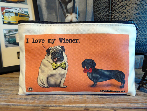 I Love My Wiener (7.5in x 4.5in)