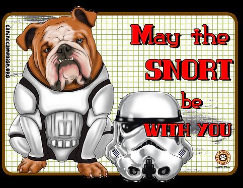 Snort Master - English Bulldog