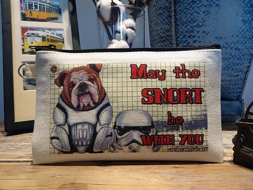 Snort Master - Bulldog (7.5in x 4.5in)