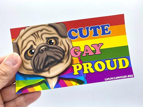 Proud (Bumper Sticker)