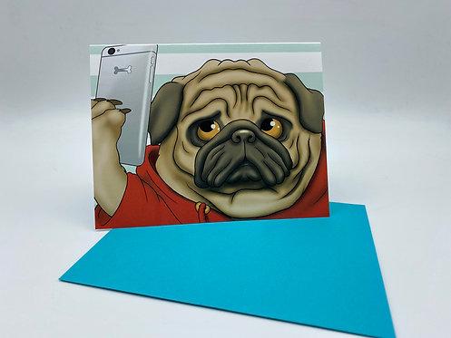 Selfie Pug