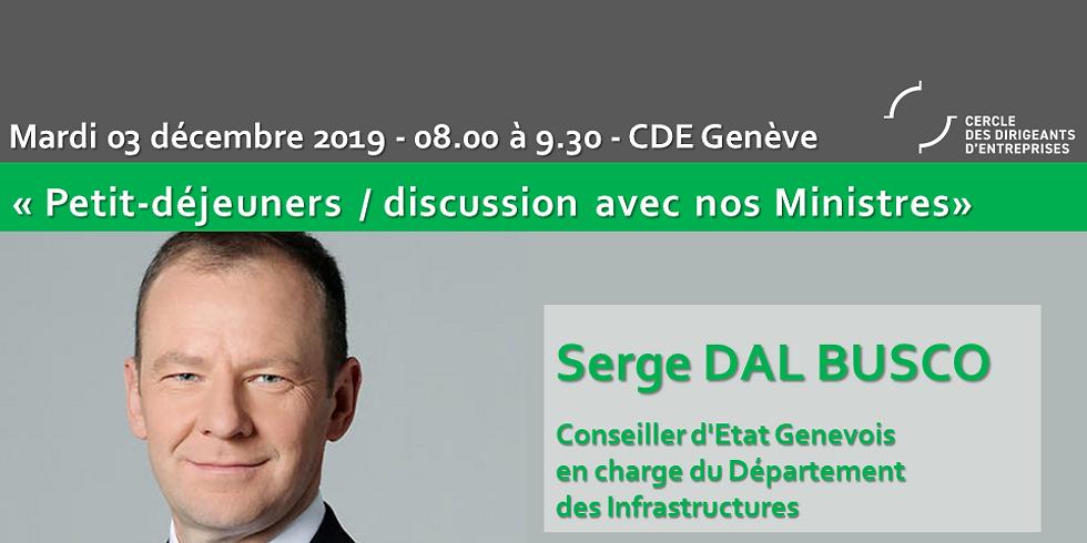 Serge DAL BUSCO : Petit Déjeuner - Discussion du CDE