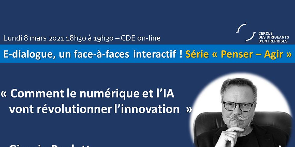 """Giorgio PAULETTO - """"Comment le numérique et l'IA vont révolutionner l'innovation"""""""