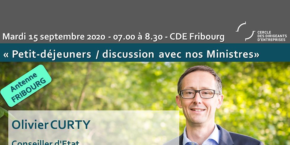 Olivier CURTY* : Les Petits-déjeuners / Discussions du CDE