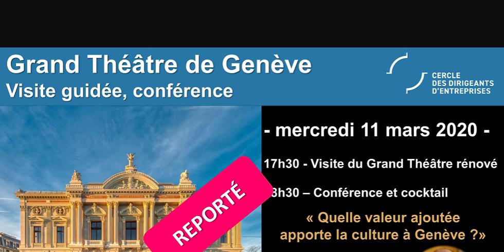 Visite privée du Grand Théâtre de Genève