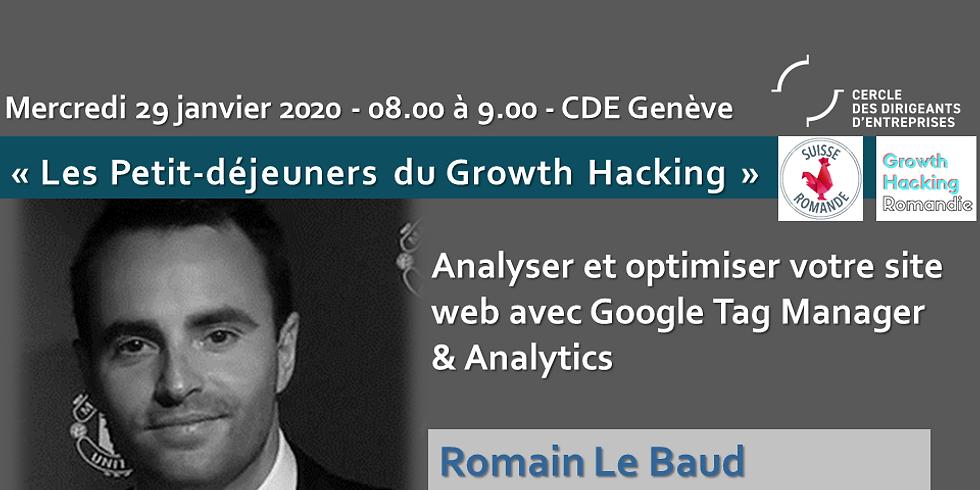 Analyser et Optimiser votre site web avec Google Tag Manager et Analytics
