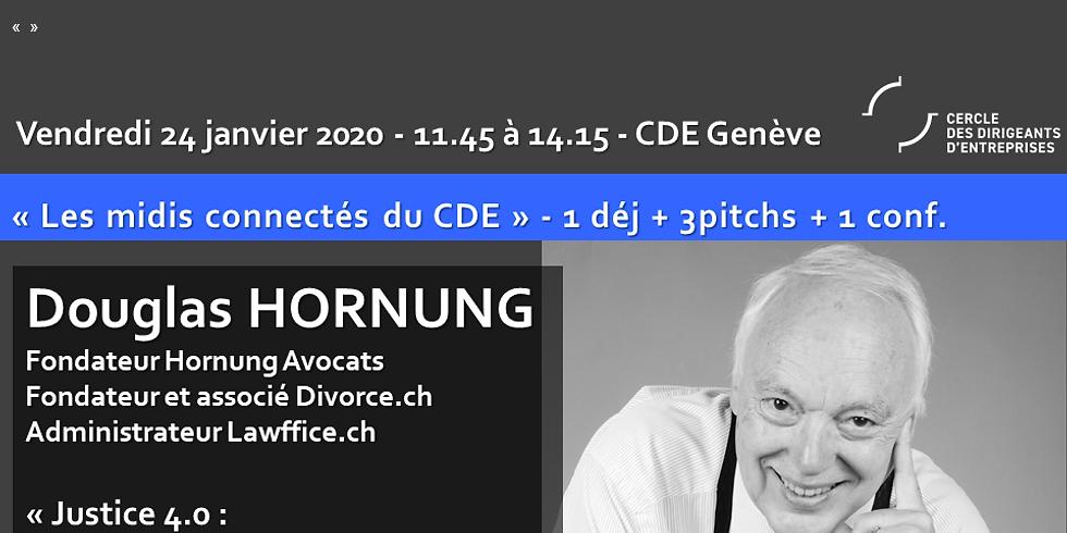 """Douglas HORNUNG """"Justice 4.0 - Digitalisation de la justice en Suisse - Freins et Opportunités"""""""
